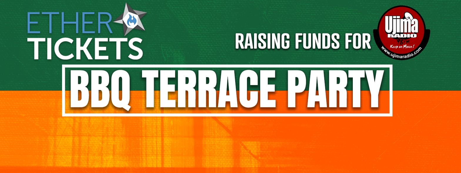 Ether Tickets: BBQ Terrace Party + Ujima Fundraiser