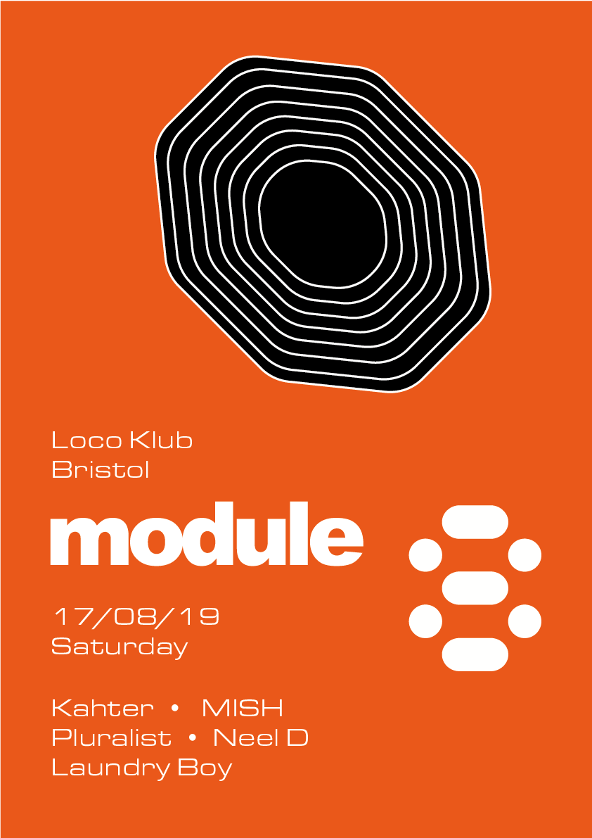 Event Poster For Module 8 Opening Party