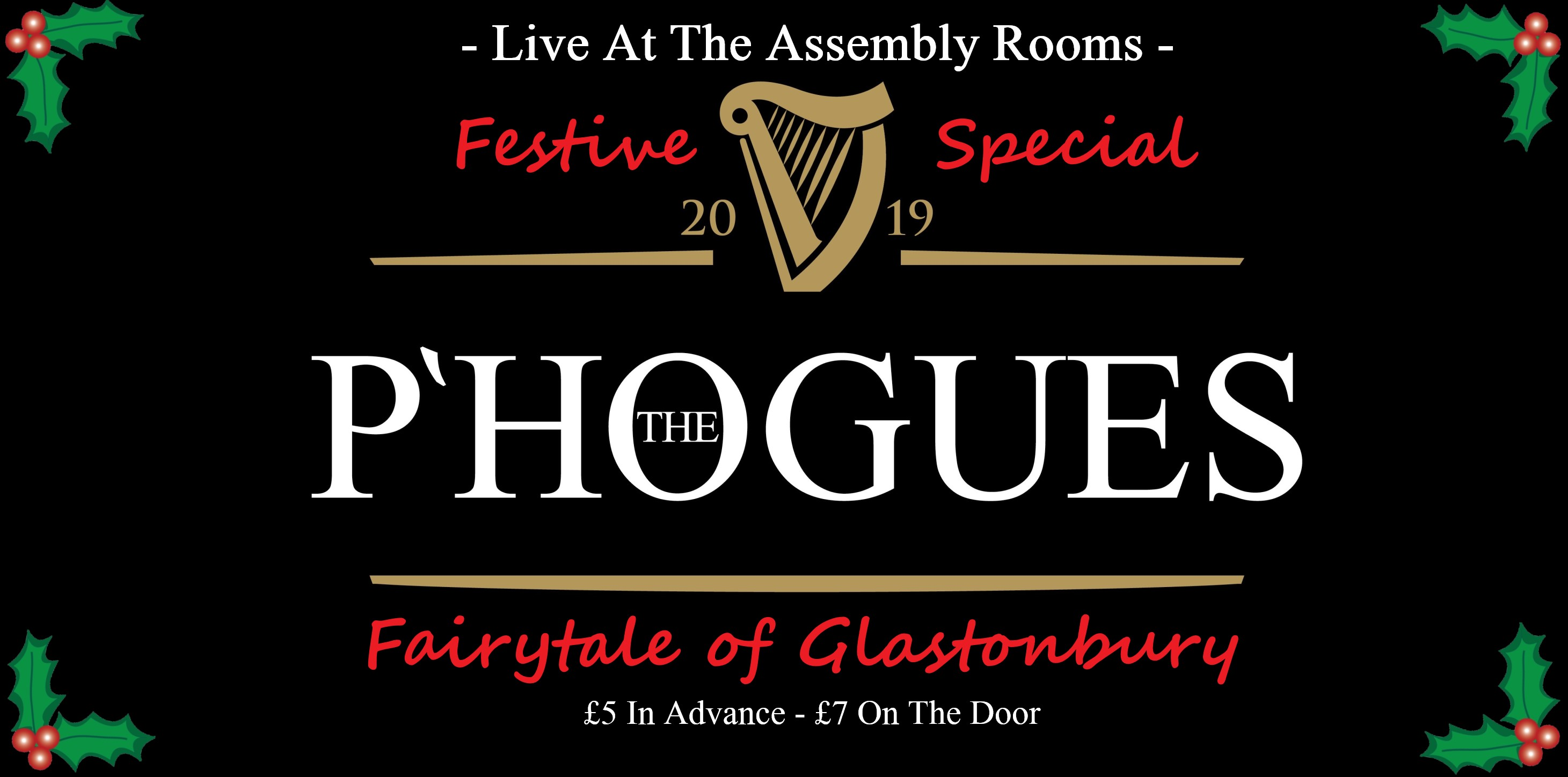 THE P'HOGUES - A Spirited Tribute to The Pogues - Fairytale of Glastonbury - Festive Special