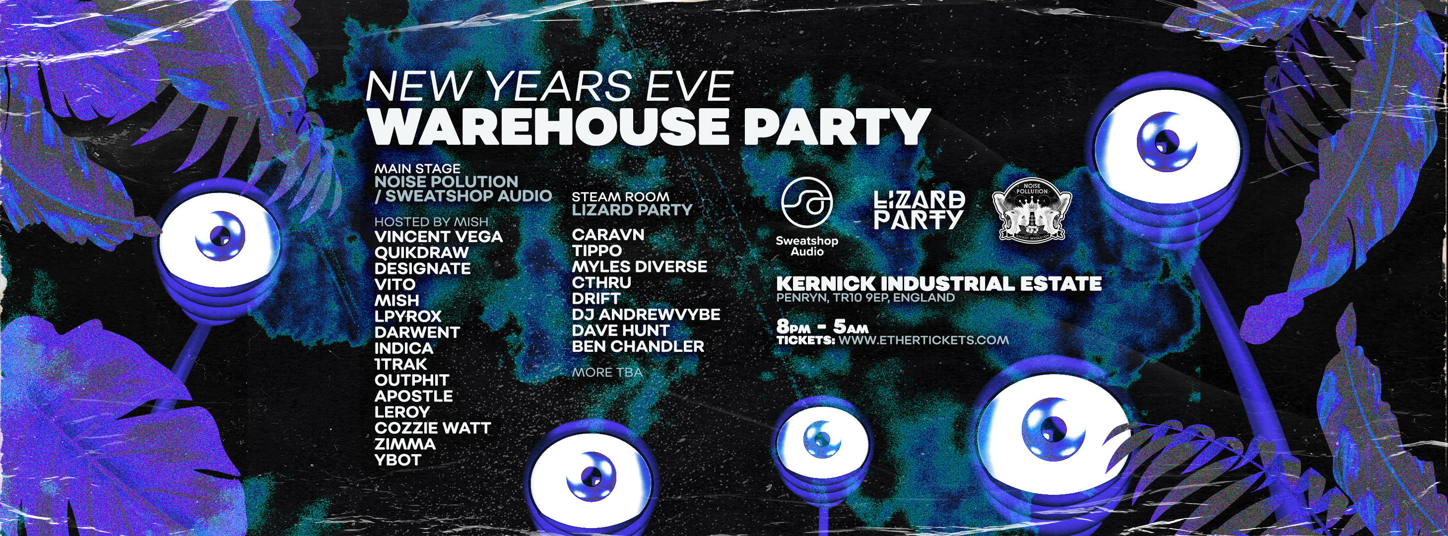 New Years Eve Warehouse Party