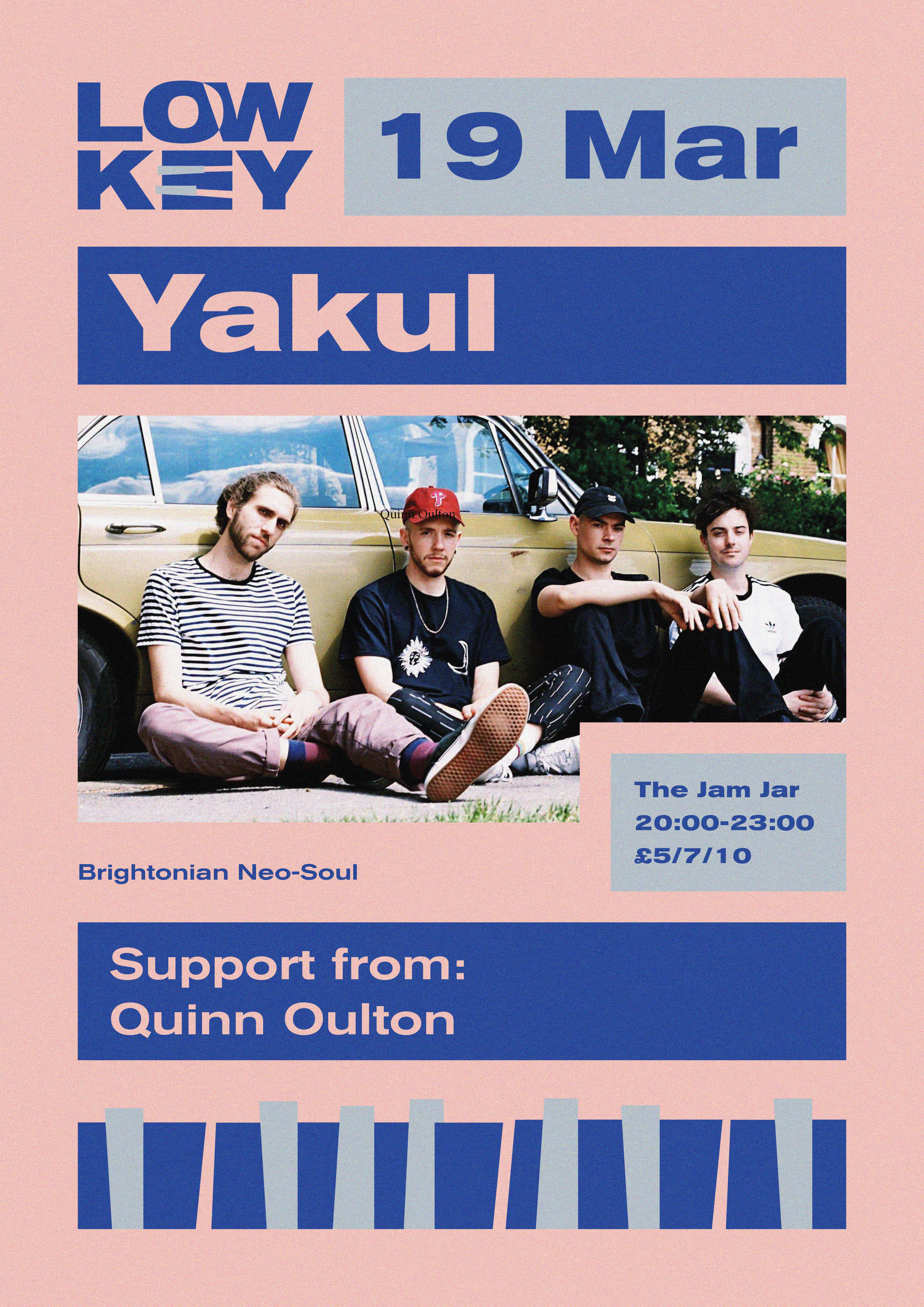 Event Poster For CANCELLED: LowKey 003: Yakul - Bristol debut
