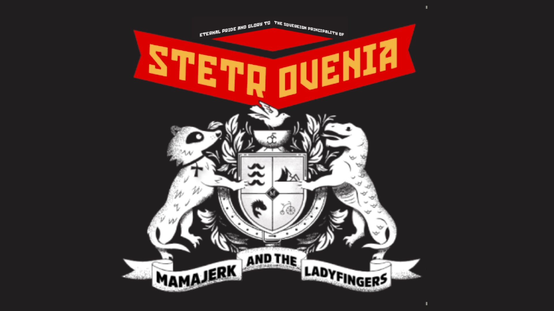 Event Poster For Mama Jerk & the LadyFingers: Stetrovenia (EP and Comic Book Launch)
