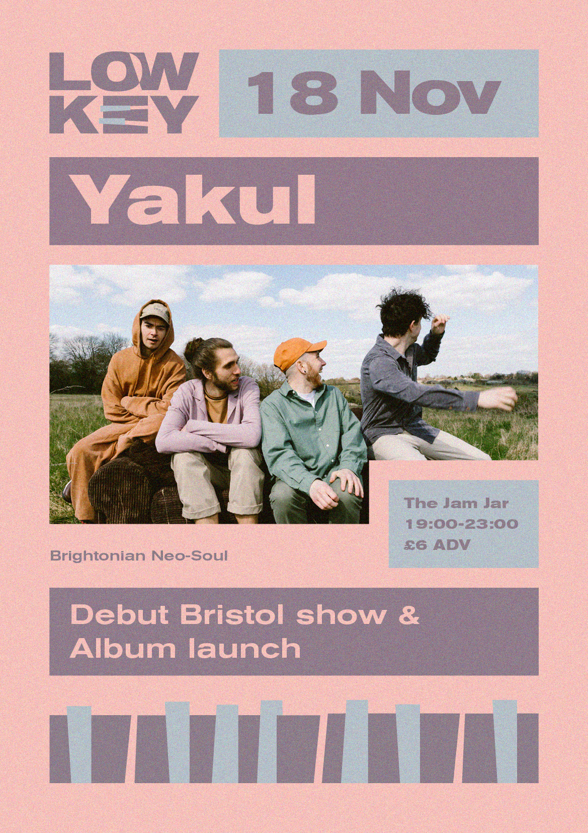 Event Poster For LowKey: Yakul + Support